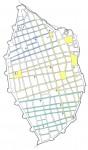 1. ハバナ旧市街の不整形グリッド