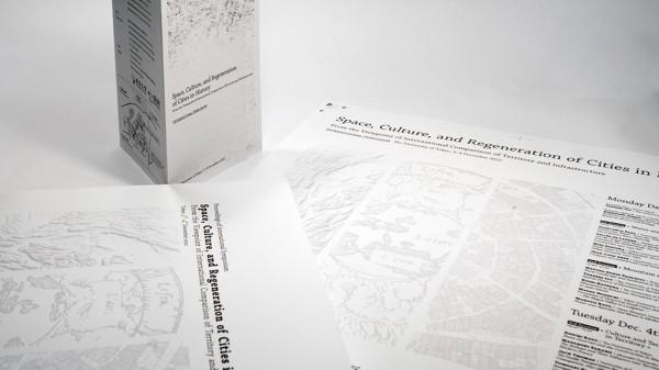 国際シンポジウム「歴史都市の空間・文化・持続再生」配布物
